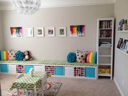 Creative ideas for making a children's playroom