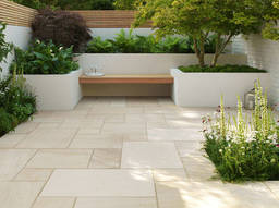 The pros and cons of sandstone paving