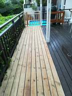 Alternative options for affordable decking