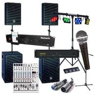 Sound and Lighting Equipment