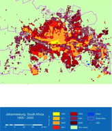 Sourced from the Atlas of Urban Expansion by Angel Shlomo