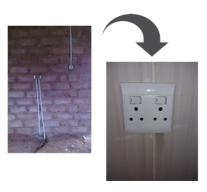 Electrical Installation in a new building