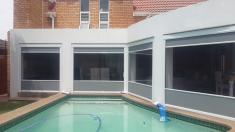 Outdoor Cafe Blinds 15% Discount Bryanston Bamboo Blinds _small