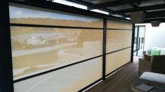 Outdoor Cafe Blinds 15% Discount Bryanston Bamboo Blinds 3 _small