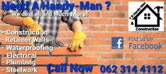 any and all HANDYMAN WORK free quotes this month Amanzimtoti Renovations _small