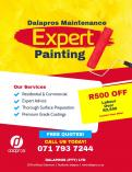 Expert Wall Coatings! R500 discount on labour costs above R2500! Greymont Emergency Plumbers _small