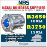 Super Specials on SUPAHOT. Clairwood Building Supplies & Materials _small