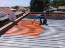Liquid Rubber Waterproofing Germiston CBD Roof water proofing 3 _small