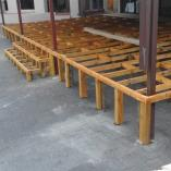 wooden decking Germiston CBD Roof water proofing _small