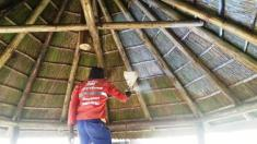 Thatch Fire Retardant Sandton CBD Roof water proofing 2 _small