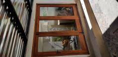 Meranti folding stackdoor. Roodeplaat Stacker Doors 2 _small