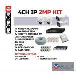 Provision 4 Channel 1080p IP Kit Randburg CBD CCTV Security Cameras _small