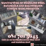 Stainless steel fabrication East London Central Staircases 4 _small