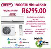 Winter Air-con Promo Durban North CBD Fridge and Freezer _small