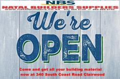 Natal Builders Supplies Notification Clairwood Building Supplies & Materials _small