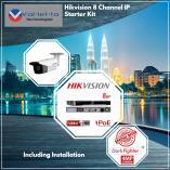 Hikvision 8 Channel IP DarkFighter Kit + Installation Randburg CBD CCTV Security Cameras _small