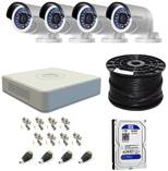 Hikvision Turbo HD 4ch CCTV Kit Walmer CCTV Security Cameras _small