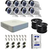 Hikvision Turbo HD 8ch CCTV Kit Walmer CCTV Security Cameras _small