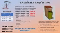 Rainwater Harvesting Hoeveldpark Builders & Building Contractors 4
