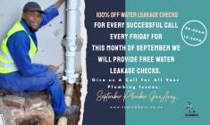 September Plumbing Pay Forward Johannesburg CBD Plumbers _small