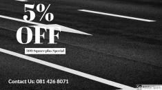 10% Discount for Projects with 300m2 or more Randburg CBD Tarring Specialists _small