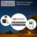 15% Off Hikvision 4 Channel 1080p Analog Kit Randburg CBD CCTV Security Cameras _small