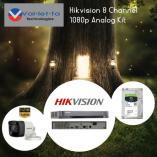 15% Off Hikvision 8 Channel 1080p Analog Kit Randburg CBD CCTV Security Cameras _small