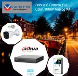 15% Off Dahua 8 Camera 24/7 Full Color 1080P Analog Kit Randburg CBD CCTV Security Cameras _small
