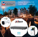 15% Off Dahua 16 Camera 24/7 Full Color 1080P Analog Kit Randburg CBD CCTV Security Cameras _small