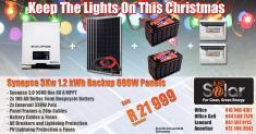 Keep the lights on this Christmas!!! Vanderbijlpark Solar Energy & Battery Back-up _small
