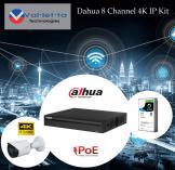 15% Off Dahua 8 Channel 4K IP Kit Randburg CBD CCTV Security Cameras _small