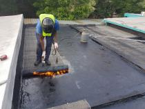 Torch on waterproofing and repairs Randburg CBD Roof water proofing 2 _small