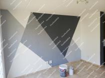 Painting and decorating Protea Glen Wallpaper Installation 3 _small