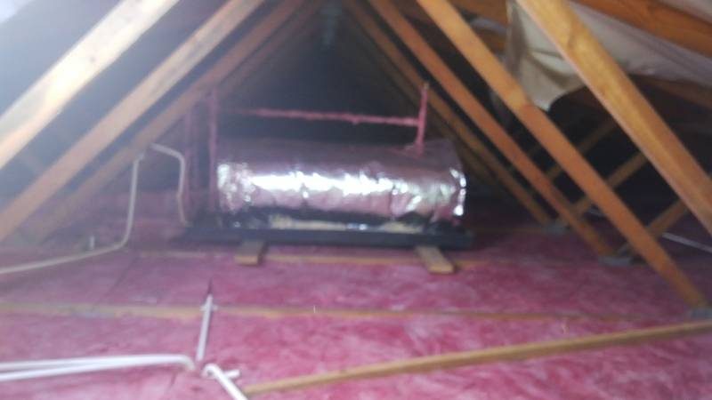 Ceiling and Geyser insulation