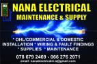 NANA ELECTRICAL MAINTENANCE AND SUPPLY
