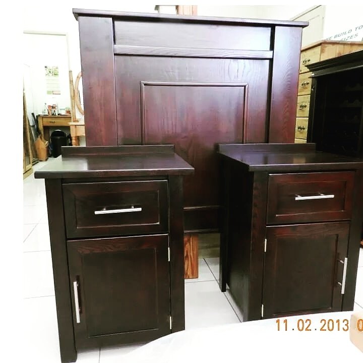 Mahogany single,double,queen or king size