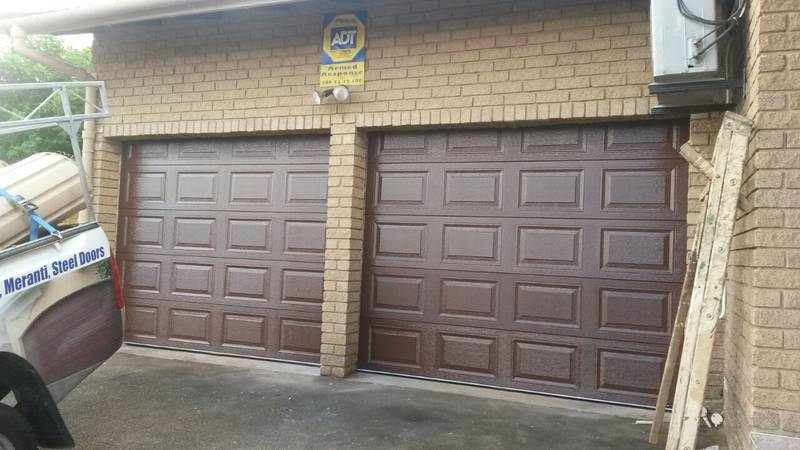Steel Chromodek Sectional Door