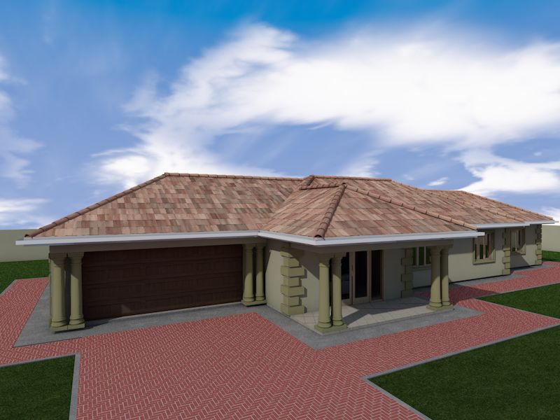 4 Bedroom house plan in Izingolweni