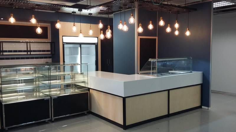 Canteen - fully fitted with service counter POS