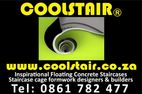 FLOATING CONCRETE STAIRCASES - COOLSTAIR WWW.COOLSTAIR.CO.ZA  TEL 0861782477