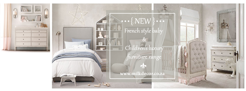 New french range of baby furniture