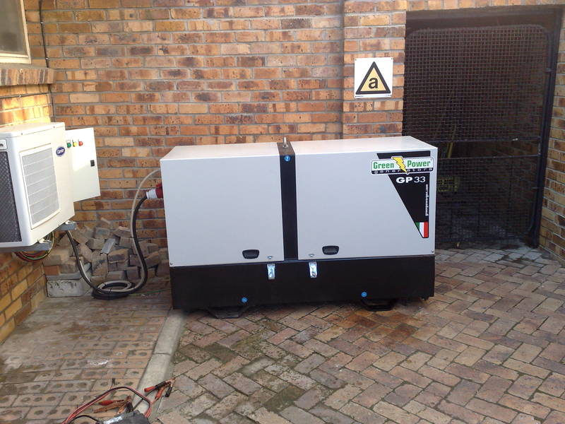 Green Power Generator supplie to Eskom
