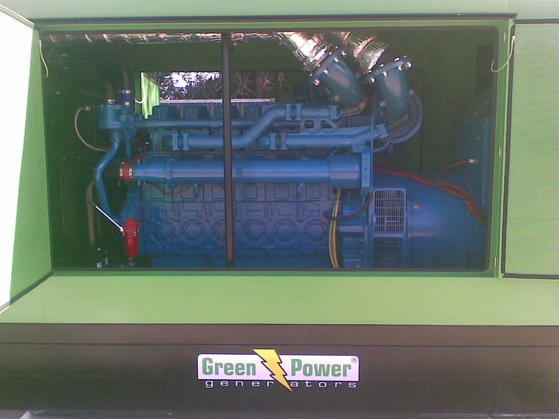 Green Power GP880 at 2 Mill Hospital