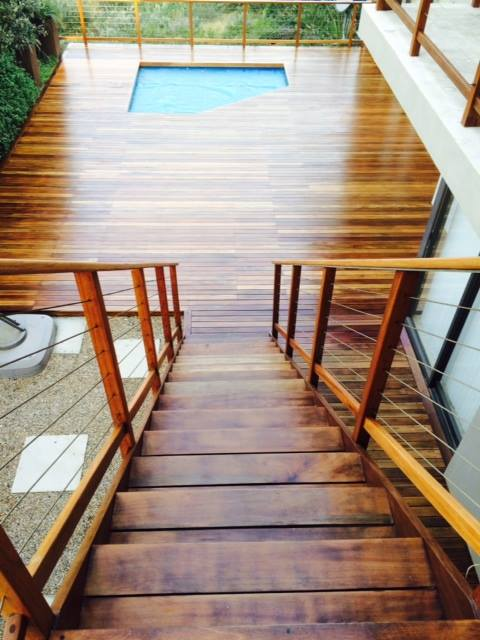 Deck, Balustrades and Staircase in Zimbali