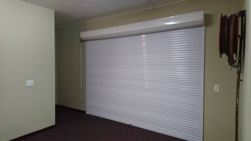Internal safe-haven with manual override, industrial complex, Montague Gardens