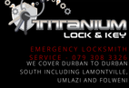 Titanium Lock and Key