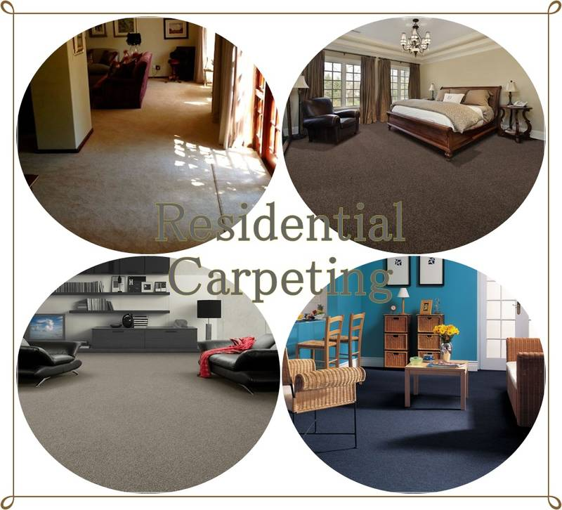 Supply & Install various types of Residential Carpeting