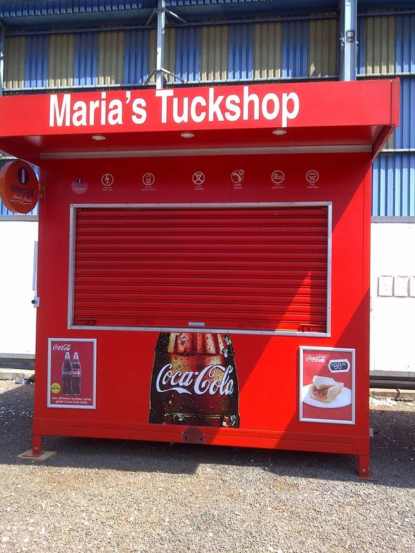 push up mobile tuck shops in powder coated finish for africa