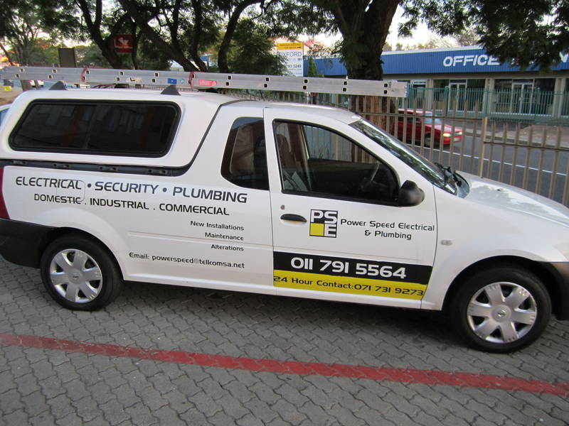 Bakkies for our technicians