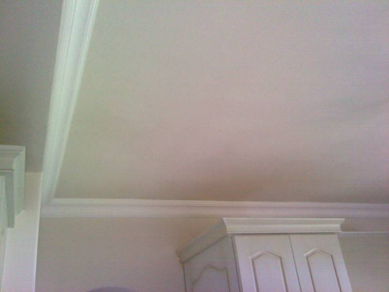 This ceiling looks fine.. look at the next image which is in Infra Red...